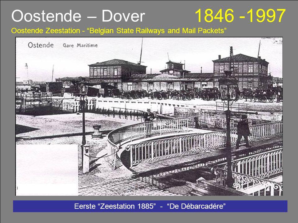 Zeestation Oostende 150 jaar Staatspakketboten