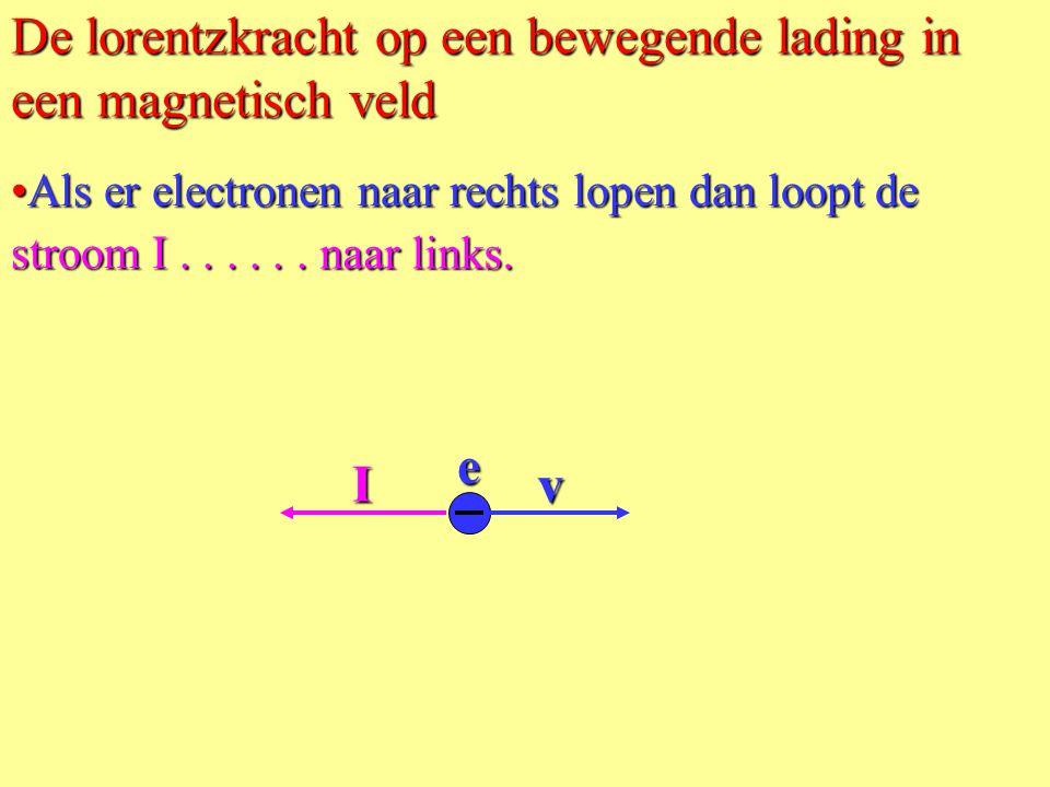 Bij de draad houd je een magneet van 0,50 T met breedte BC = 2,0 cm. Rekenvoorbeeld. F L = B.I.l •Door draad AD van 10 cm lengte loopt 3,0 A. •Bereken