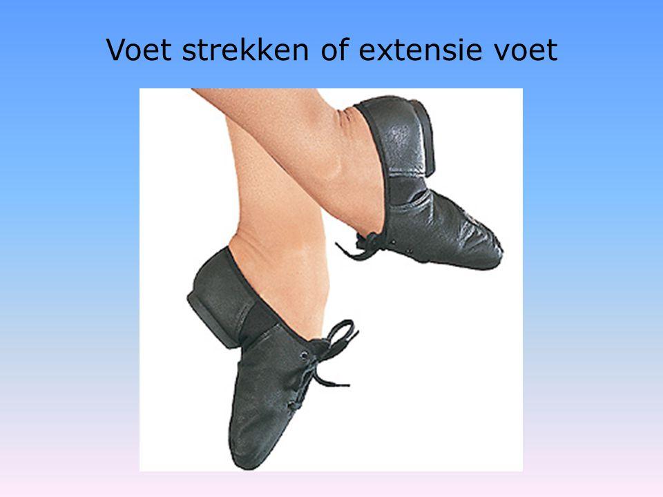 Voet strekken of extensie voet