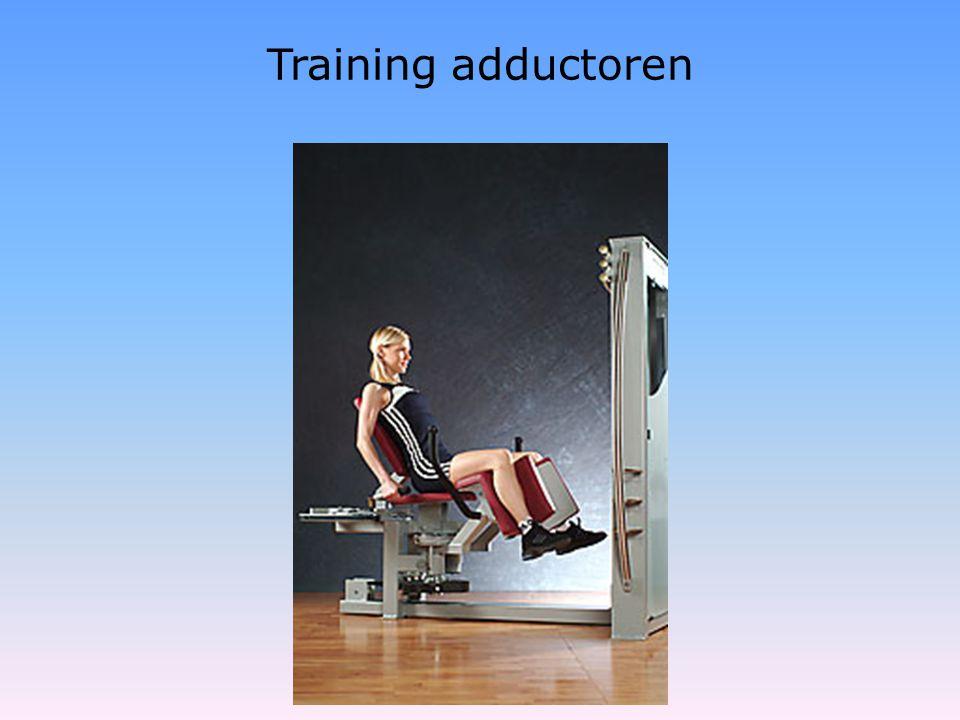 Training adductoren
