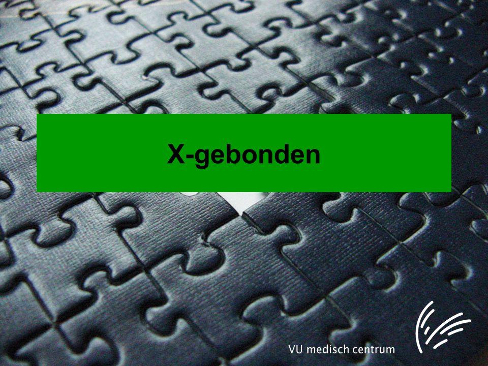 X-gebonden