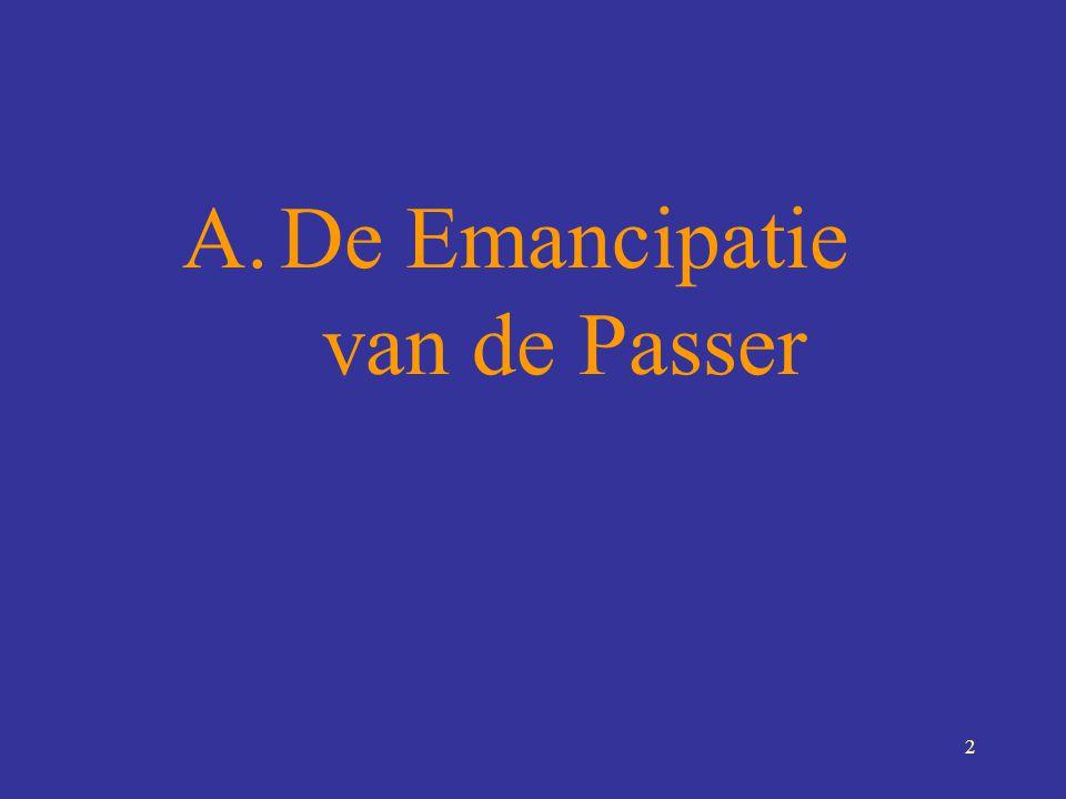 2 A.De Emancipatie van de Passer