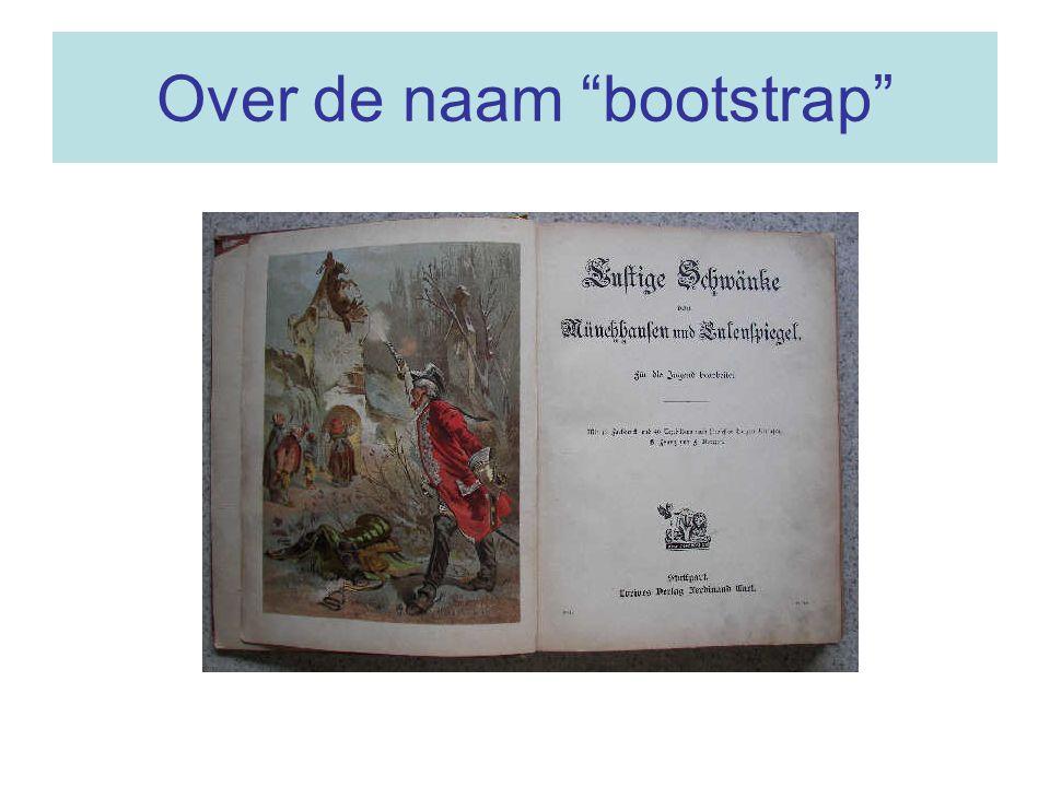 "Over de naam ""bootstrap"""