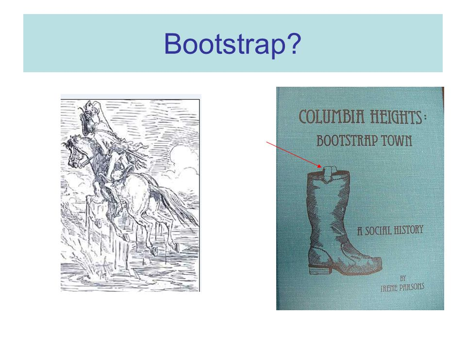 Bootstrap?