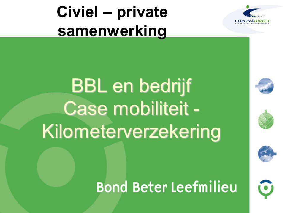 BBL en bedrijf Case mobiliteit - Kilometerverzekering Civiel – private samenwerking