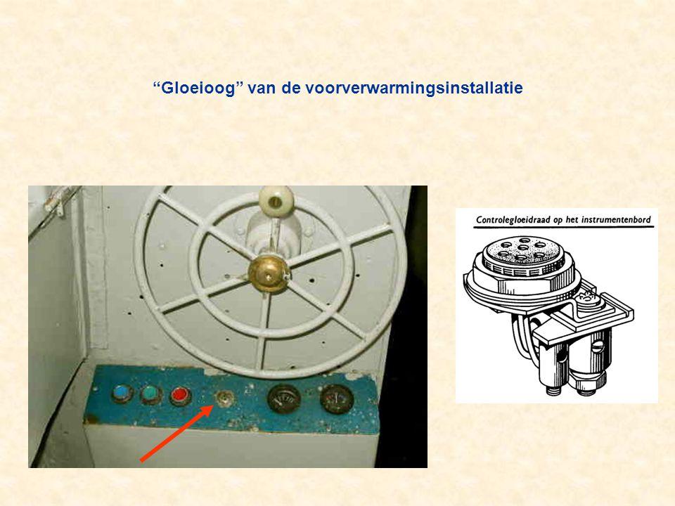 """""""Gloeioog"""" van de voorverwarmingsinstallatie"""