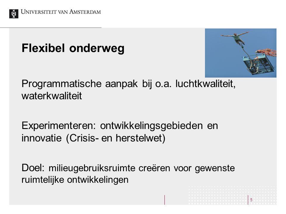 Flexibel onderweg Programmatische aanpak bij o.a.