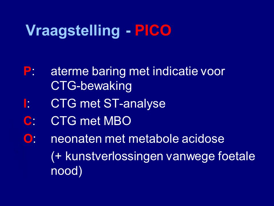 Nederlandse RCT The cost-effectiveness of ST-analysis of the fetal electrocardiogram as compared to fetal blood sampling for intrapartum monitoring: a