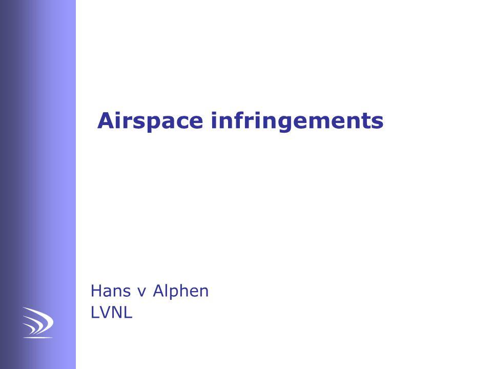 Airspace infringements Hans v Alphen LVNL