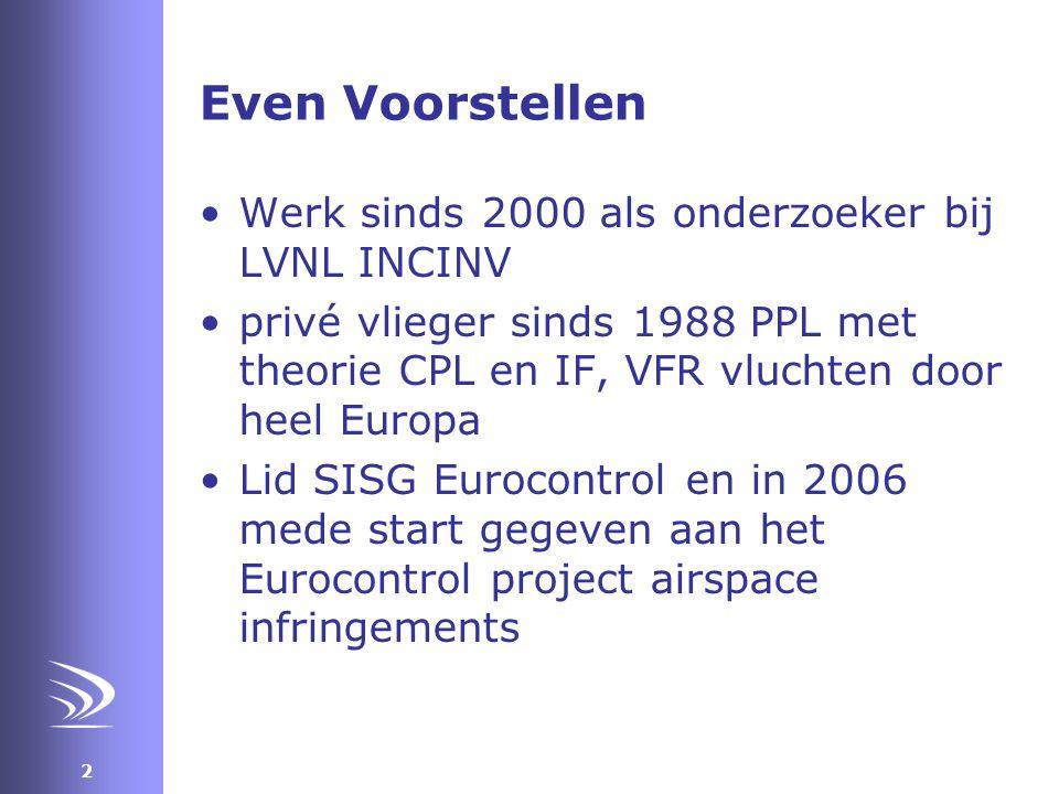 23 Single person aviator •Per NOTAM bekend stellen van essentiële wijzigingen luchtruimstructuur •NOTAM's worden slecht gelezen en zijn slecht toegankelijk, waslijst met coördinaten ipv plaatje •Voorbeeld SRZ's rondom Schiphol