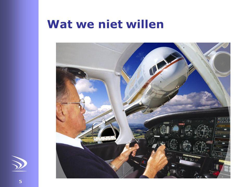 26 Single person aviator •Opleiding en checks veelal gericht op veilig vliegtuig hanteren •Na verkrijgen brevet is het voor iedere vlieger een ontdekkingstocht naar eigen kunnen •Opleidingsniveau en achtergrond is heel verschillend •VFR vliegen is misschien wel moeilijker als IFR vliegen