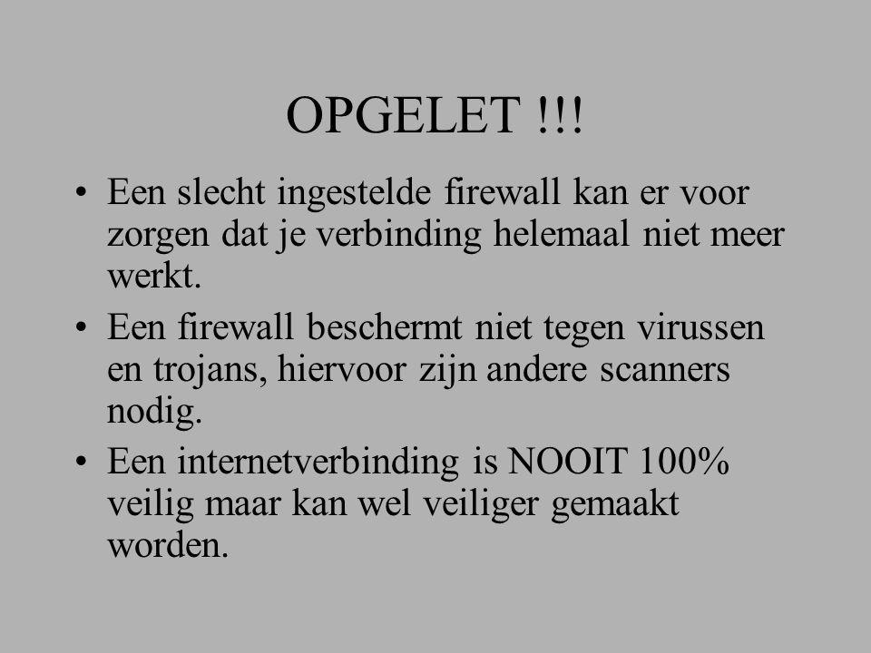 OPGELET !!.