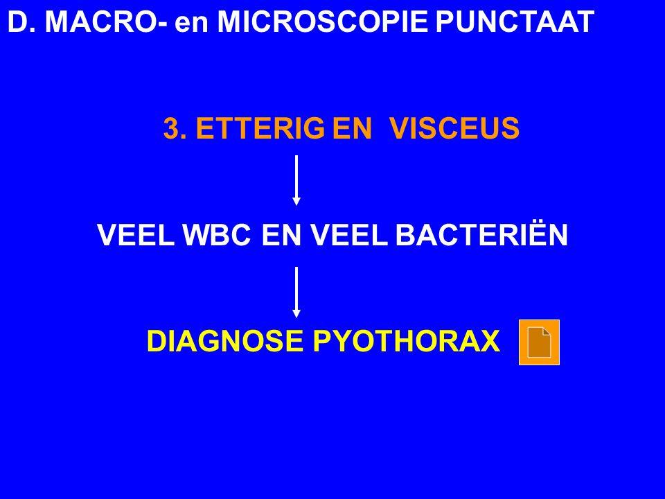 D.MACRO- en MICROSCOPIE PUNCTAAT 3.