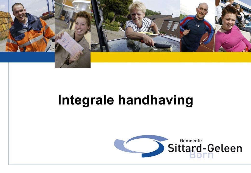 Integrale handhaving