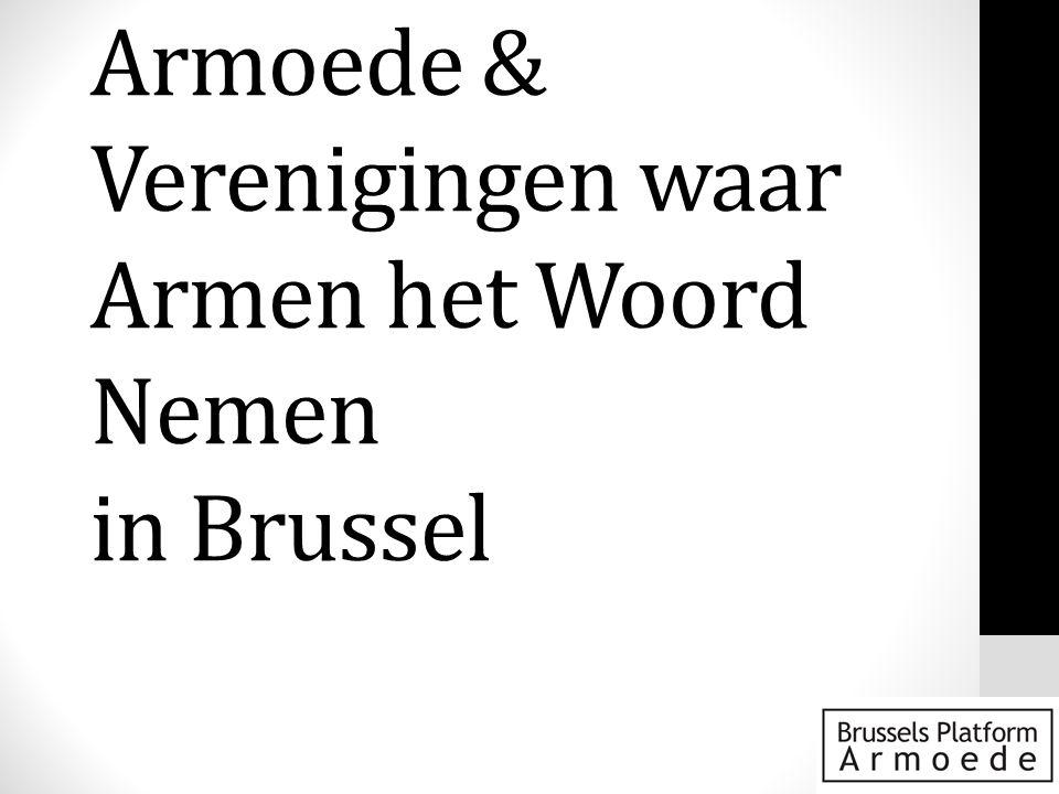 Brussel: Divers & Ongelijk • DIVERSITEIT • > Eén op de twee inwoners van Brussel is buiten Brussel geboren, Eén op drie komt uit het buitenland • > De verscheidenheid aan nationaliteiten, talen en culturen is een complexe rijkdom • ONGELIJKHEID (inkomen) • > Gini-coëfficient van 0,37 (=Letland) • > Eén op vier Brusselaars onder de armoederisicogrens (schatting voor 2007) (Tegenwoordig waarschijnlijk hoger) • > Eén op drie grote moeilijkheden om rond te komen (2008)