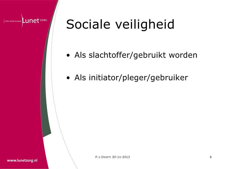 P.v.Doorn 30-11-20139 Seks en autisme Kenmerken van autisme invloed op seksueel functioneren •Communicatie •Prikkelverwerking •Sociaal gedrag •Verbeelding (Kanner)
