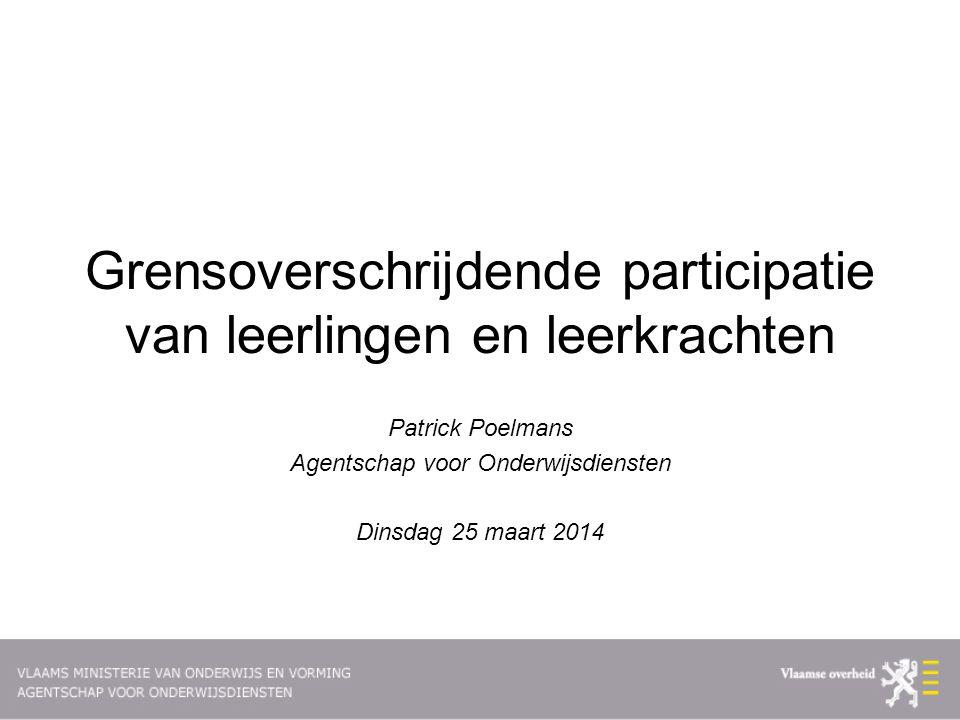 Leerlingen wonend in Nederland en schoollopend in Vlaams onderwijs