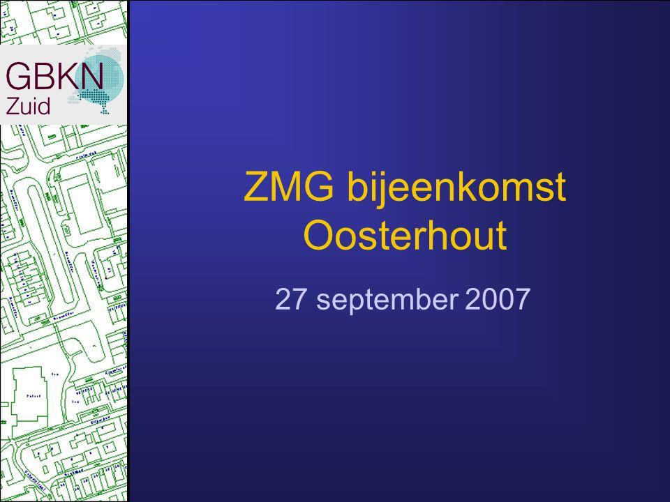 ZMG bijeenkomst Oosterhout 27 september 2007