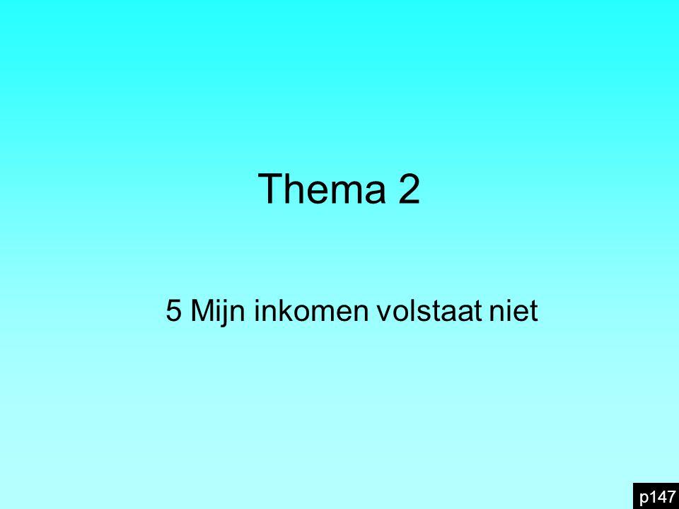 5.4 Lenen is niet zonder gevaar p155 Yoga en fitness is samen nog eens EUR De maandelijkse vaste kosten van Lara en Thomas zijn dus: EUR Samen verdienen ze EUR per maand.