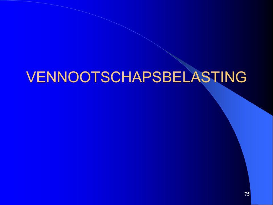 75 VENNOOTSCHAPSBELASTING
