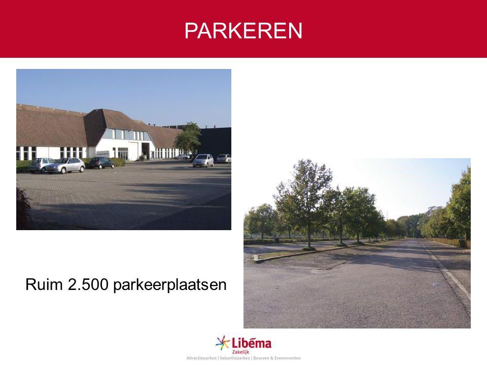 PARKEREN Ruim 2.500 parkeerplaatsen
