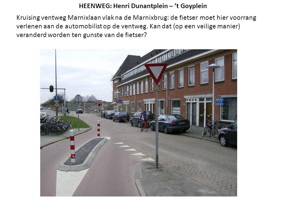 Kruising ventweg Marnixlaan vlak na de Marnixbrug: de fietser moet hier voorrang verlenen aan de automobilist op de ventweg. Kan dat (op een veilige m