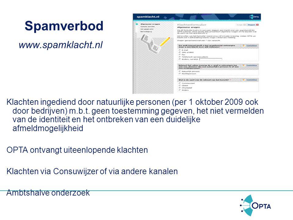 Spamverbod Listbrokers = Een bedrijf dat gespecialiseerd is in het verzamelen van adressen van potentiële klanten. De adressen kunnen worden gehuurd/v