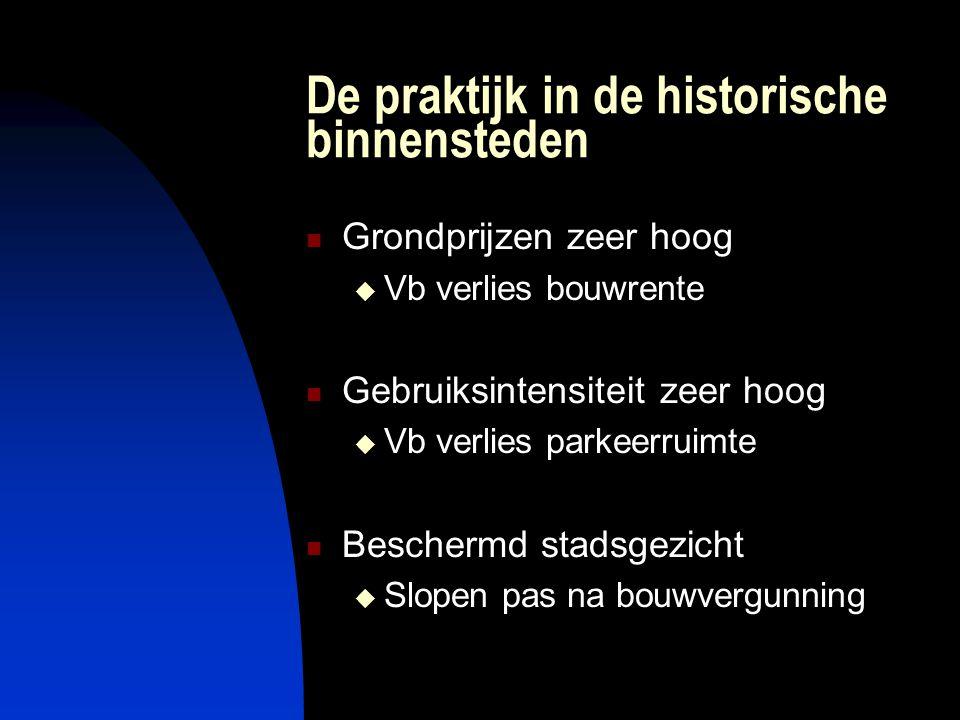 Consequenties 1  Geen IVO  Geen selectiebesluit gebaseerd op intrinsieke archeologische waarden.