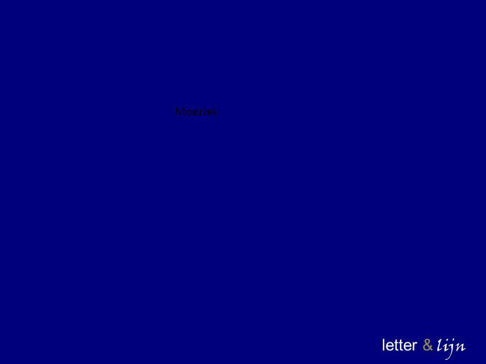letter & lijn Moeziek