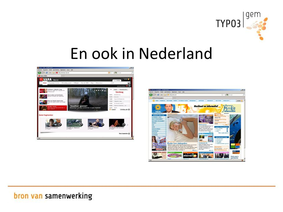 En ook in Nederland