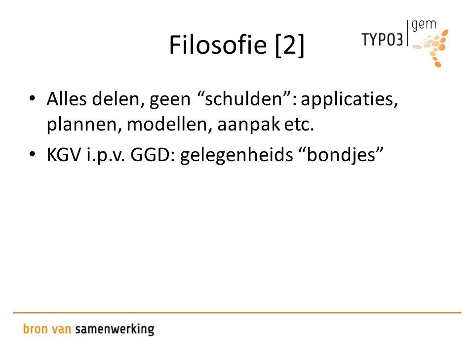 Filosofie [2] • Alles delen, geen schulden : applicaties, plannen, modellen, aanpak etc.