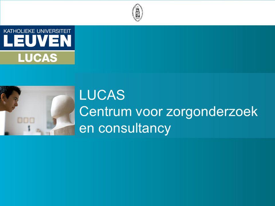 LUCAS Centrum voor zorgonderzoek en consultancy