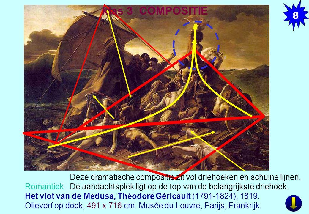 Romantiek Het vlot van de Medusa, Théodore Géricault (1791-1824), 1819.