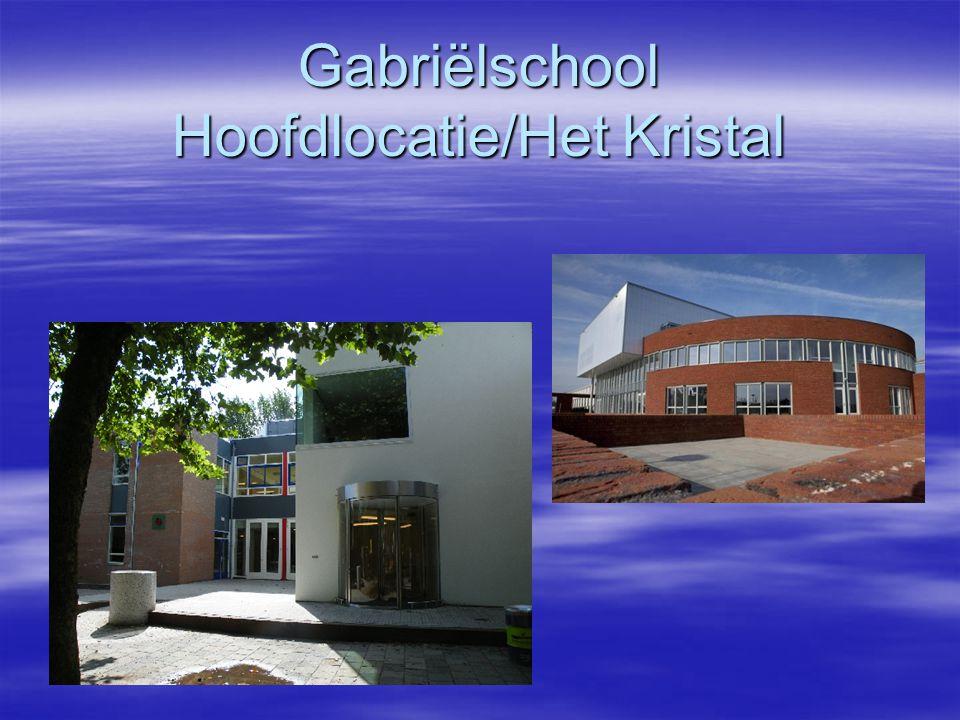 Gabriëlschool Hoofdlocatie/Het Kristal