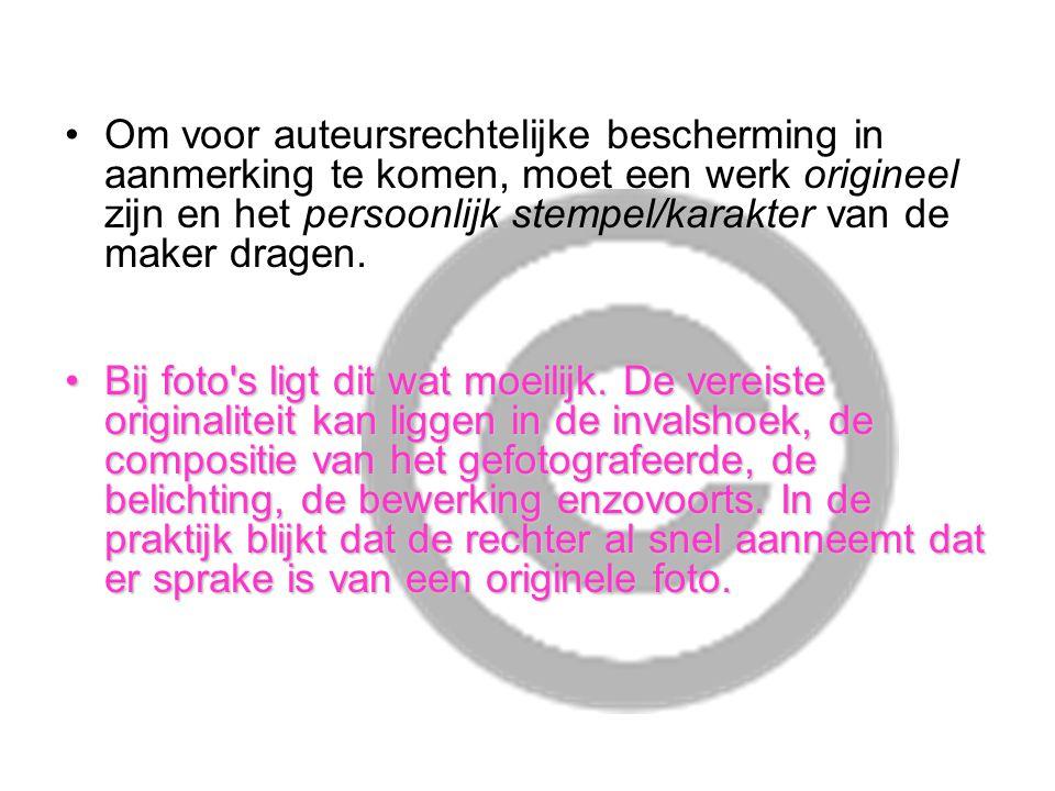 Copyright De copyright melding heeft geen juridische betekenis.