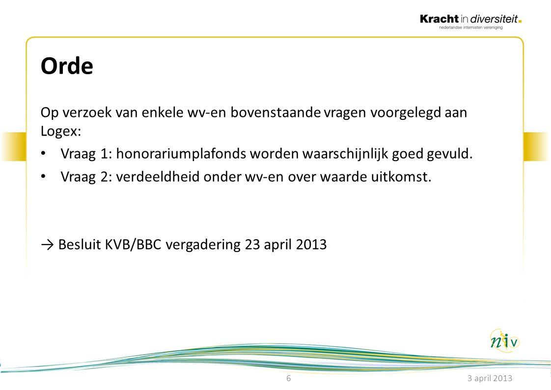 Veranderingen 2014 Ouderengeneeskunde: • WOP besluit 25/2/2013: het openstellen van de zorgproductgroep (de boom) klinische geriatrie voor internisten ouderengeneeskunde.