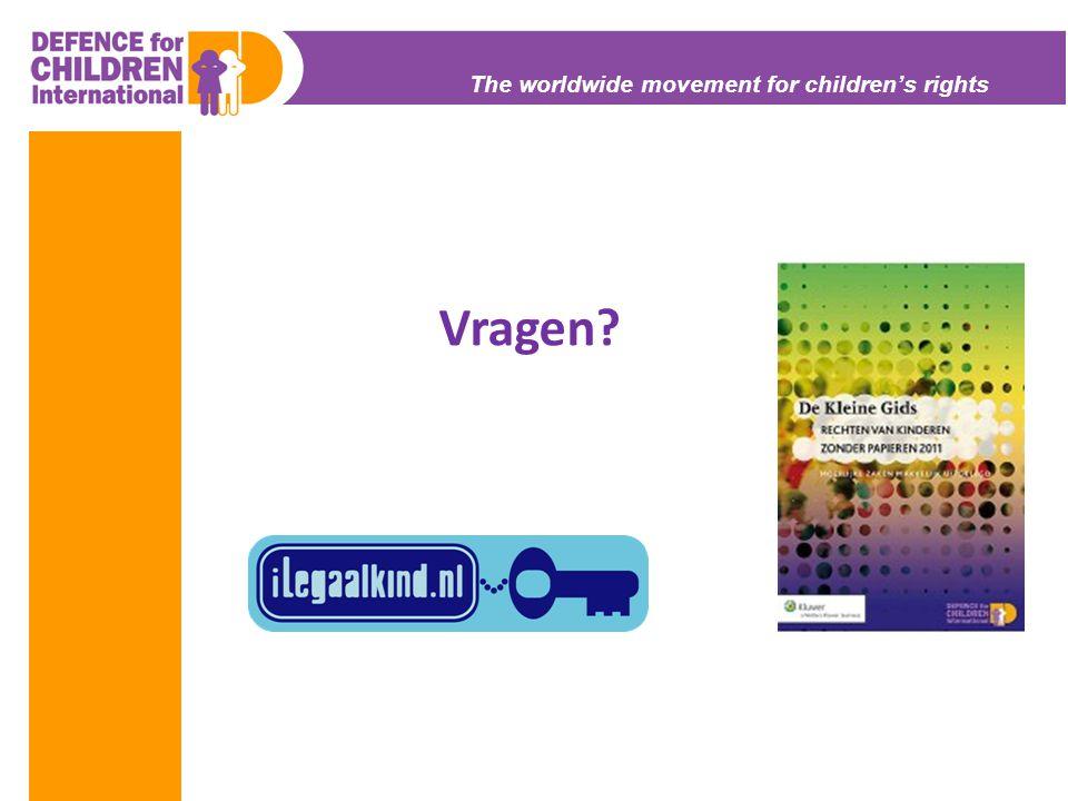 The worldwide movement for children's rights Vragen?