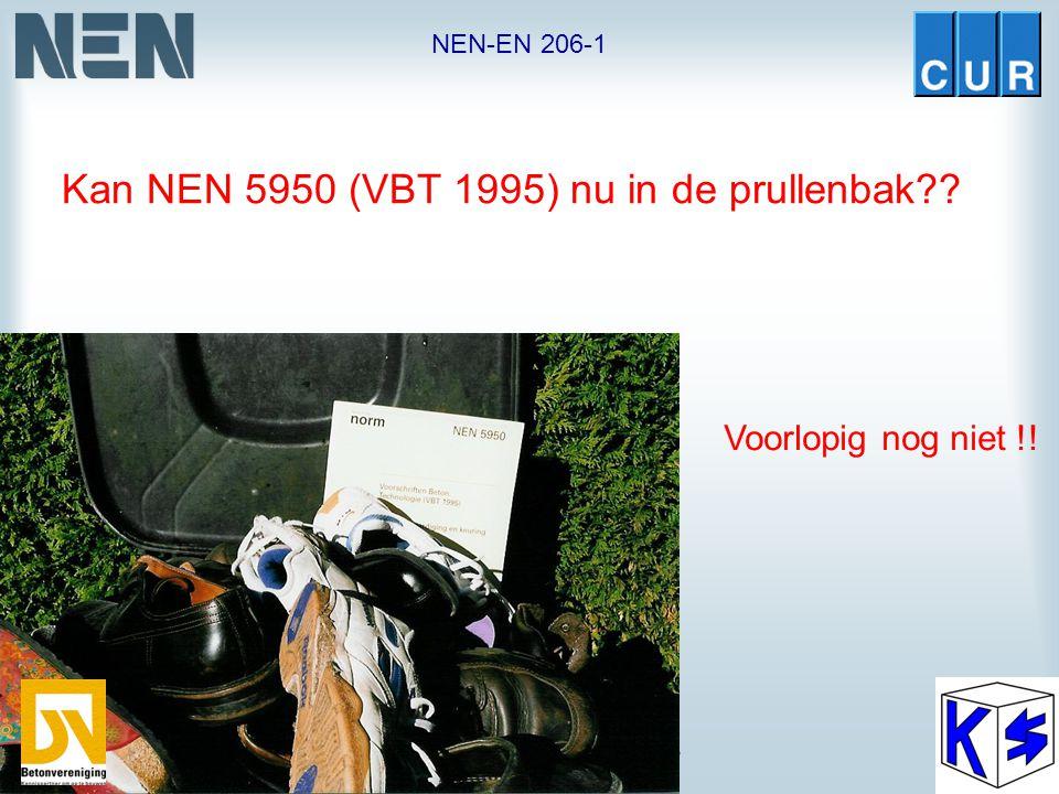 """NEN-EN 206-1 NEN/CUR-commissie 353 039 / VC 12 """"Beton"""" Regeling Bouwbesluit 2005 Publicatie naar verwachting december 2004. Hiermee wordt wijzigingsbl"""