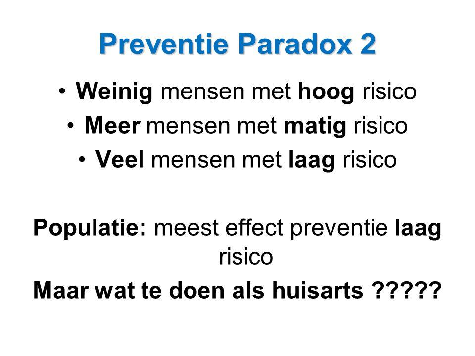 Preventie paradox Er klopt iets niet – de lucht is schoon, ons water is puur, we krijgen voldoende beweging, we eten biologisch, en toch leeft niemand langer dan 30 jaar!
