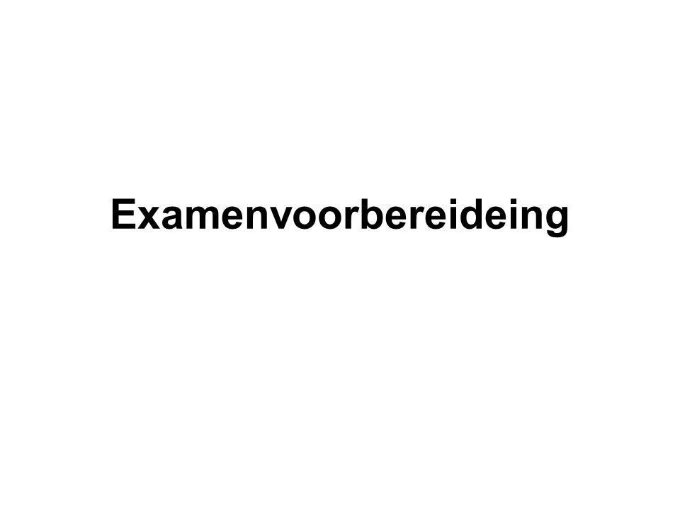 Examenvoorbereideing