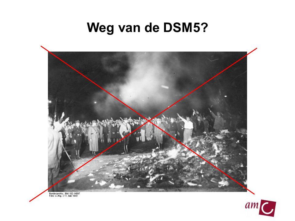 Weg van de DSM5?