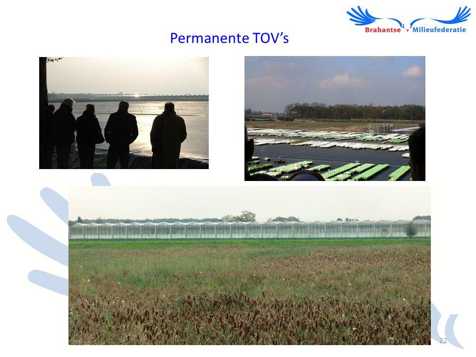 Permanente TOV's 22