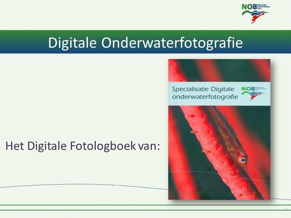 Digitale Onderwaterfotografie Het Digitale Fotologboek van: