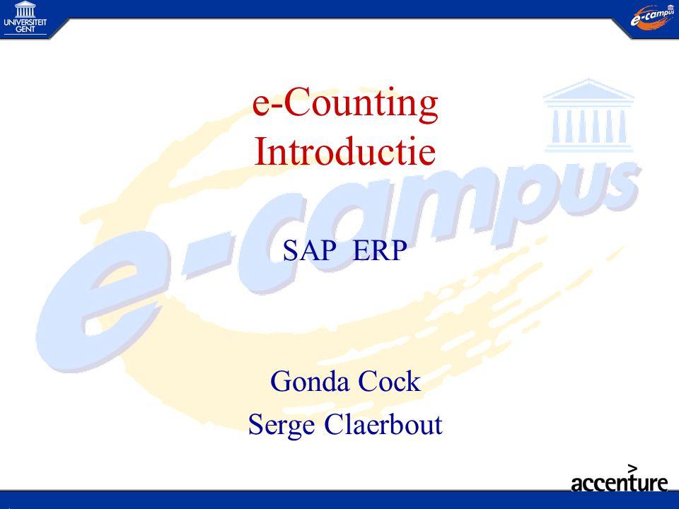 Crediteurenbeheer AP Integratie SAP : Samenvoeging van de processen Verkoop Order Levering Factuur SD Offerte proces Bestel bon Goed.