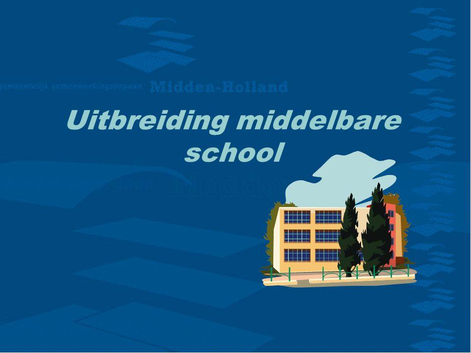 Uitbreiding middelbare school