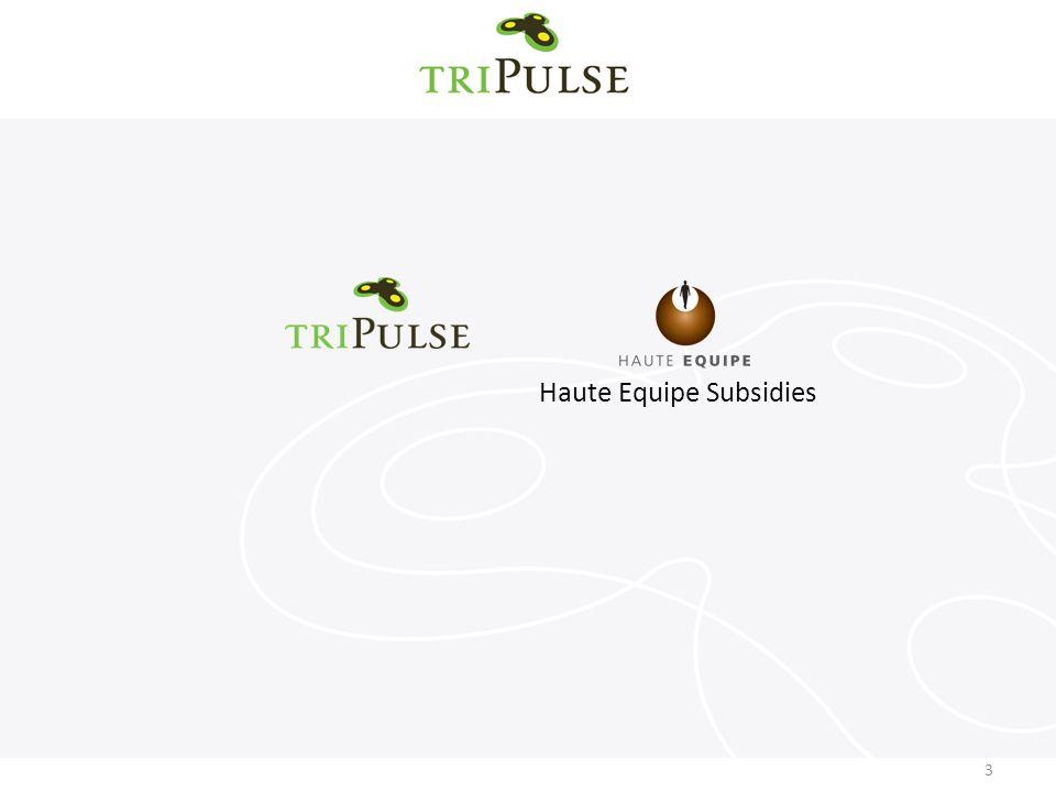 3 Haute Equipe Subsidies