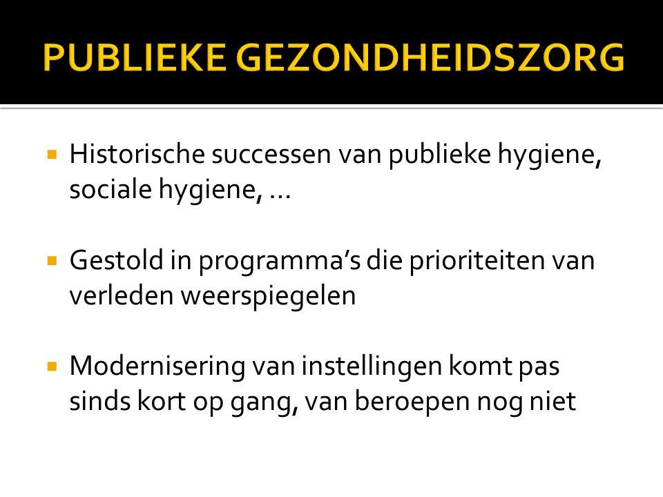 De Bekker e.a., 2006; Mackenbach, 2009