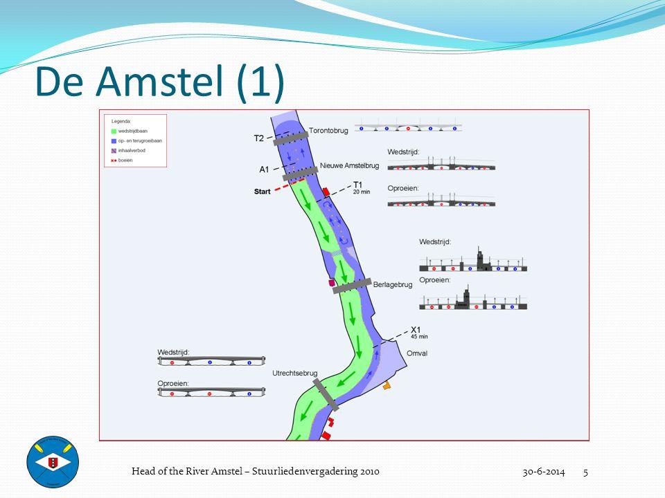 Goed Stuurmanschap 30-6-2014 36  Sportief  Schadevrij  Duidelijk Head of the River Amstel – Stuurliedenvergadering 2010
