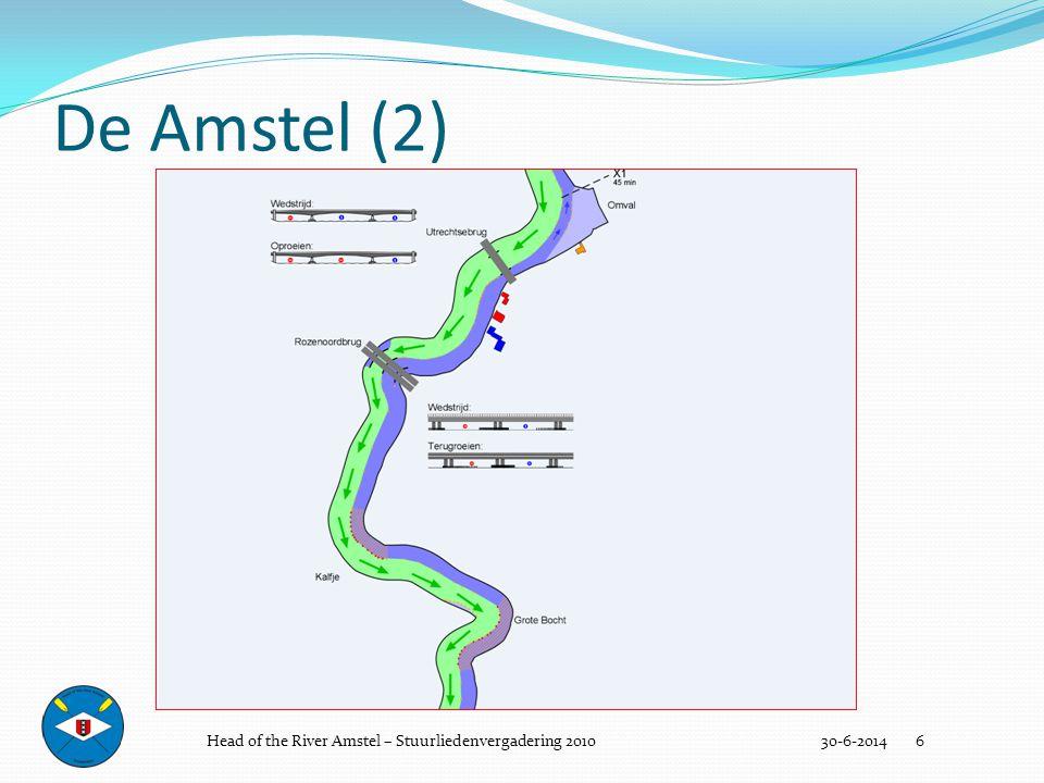 De wedstrijd (bruggen) 30-6-2014 17  Ploegen zijn verplicht alleen één van de vrijgegeven bruggaten te nemen.