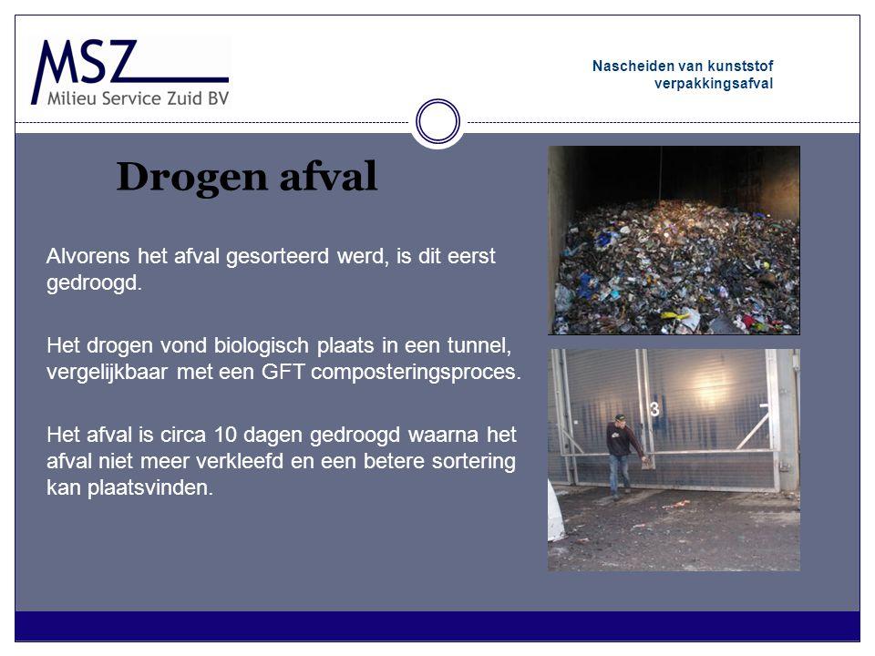 Bijkomende voordelen (1/2) Nascheiden van kunststof verpakkingsafval •Gemak voor de burger •Vermeden inzamelkilometers •Vermeden afvoertransport (vocht en hergebruik) •Vermeden CO2 uitstoot (studie LIOF en Senter Novem) De adviescommissie van Senter Novem beoordeelt de bijdrage van dit project aan de duurzame energiehuishouding in Nederland als goed, want er wordt veel energie bespaard door hergebruik van materialen, de inzet van de restfractie én er worden transportkilometers vermeden.